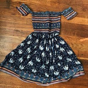 🍃Off shoulder Boho Dress 🍃